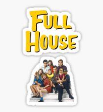 Full House (Sticker 2 Pack) Sticker