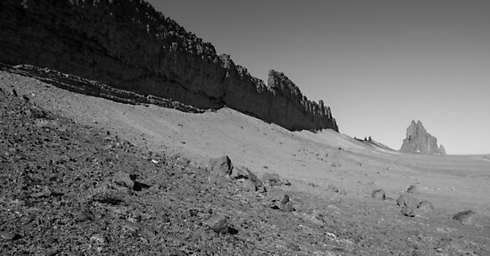 Walk The Line – Shiprock, New Mexico by Jason Heritage