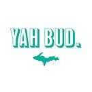 YAH BUD. Teal by Elyse Boardman