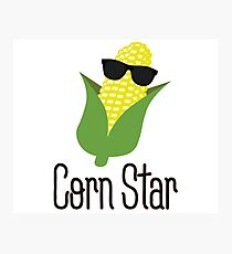 Corn Star Photographic Print