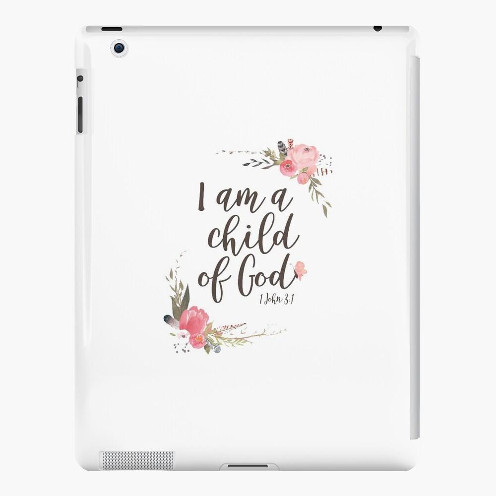 Ich bin ein Kind Gottes iPad-Hüllen & Klebefolien