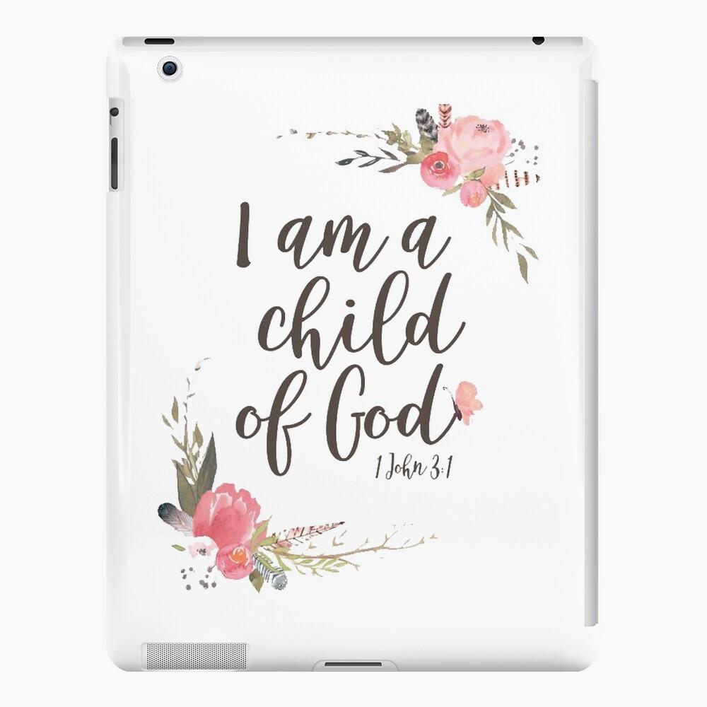 soy un niño de Dios Funda y vinilo para iPad