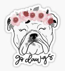 Georgia Bulldog Sticker