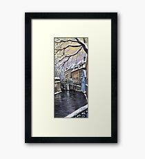 Prague Chertovka Framed Print