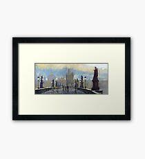 Prague Charles Bridge 06 Framed Print