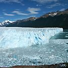 Patagonia, the Perito Moreno glacier by Peter Zentjens