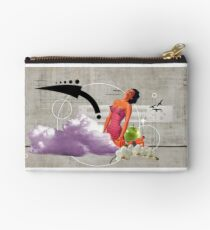 Woman at work Studio Pouch