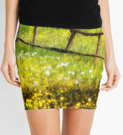 Summer in the Countryside Mini Skirt