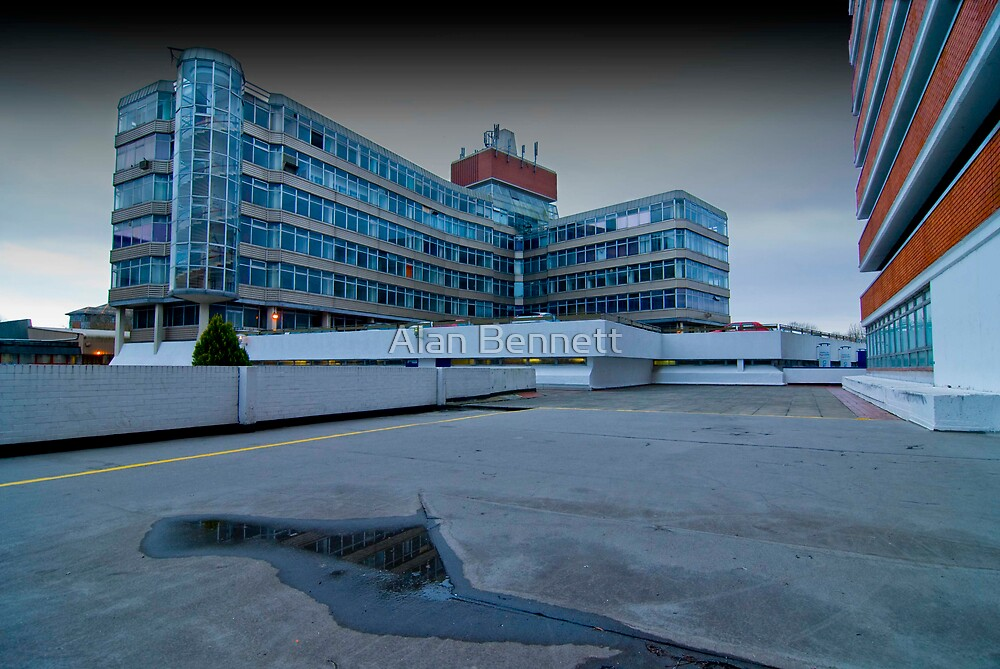 Anglia Square -Norwich by Alan Bennett
