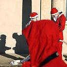 Santa Run - Norwich by Alan Bennett