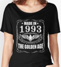 Made In 1993 - The Golden Age Women's Relaxed Fit T-Shirt