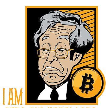 Bitcoin I am Satoshi Nakamoto by nomadshirts
