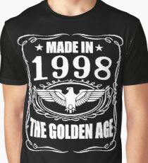 Made In 1998 - The Golden Age Graphic T-Shirt