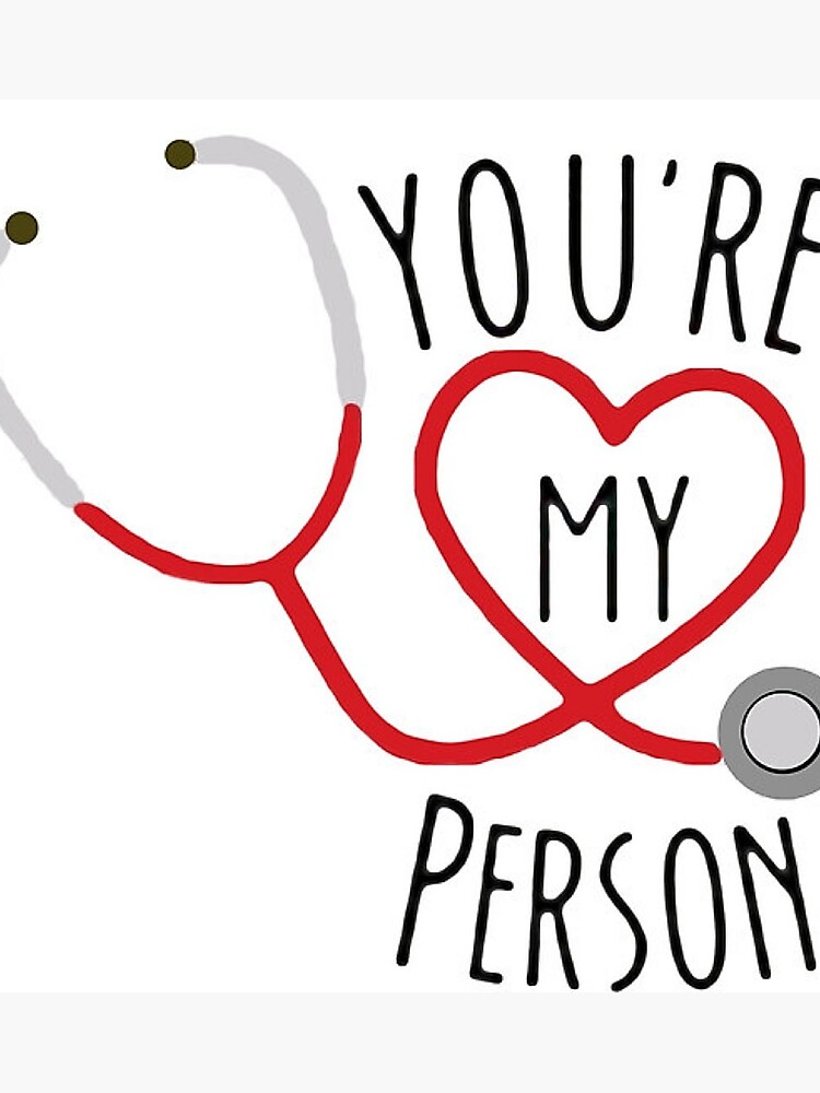 451965e724d7c You're my person! | Photographic Print