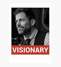 Zack Snyder Visionary Photographic Print