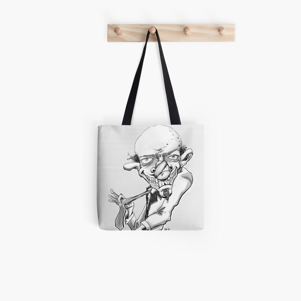 Inktober 2017 Day 21 - Creepy Guy Tote Bag