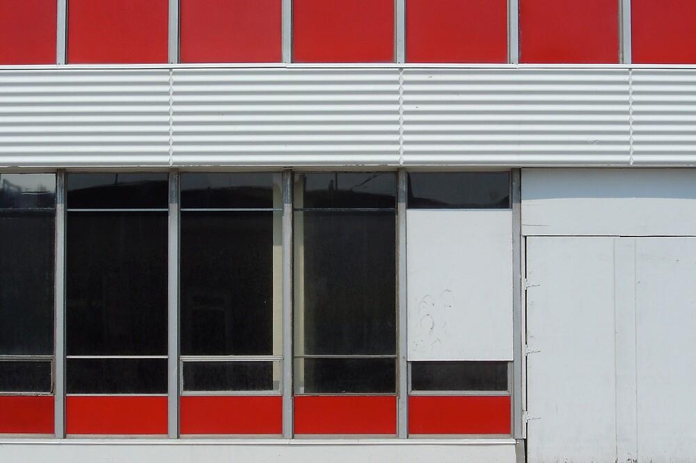 Windows Red by Robert Baker