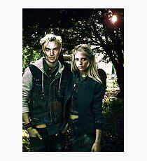 Buffy & Spike Photographic Print