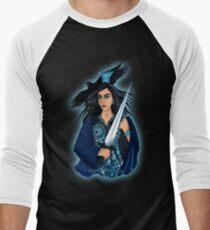 Queen of Swords Men's Baseball ¾ T-Shirt