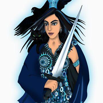 Queen of Swords by Frejasphere