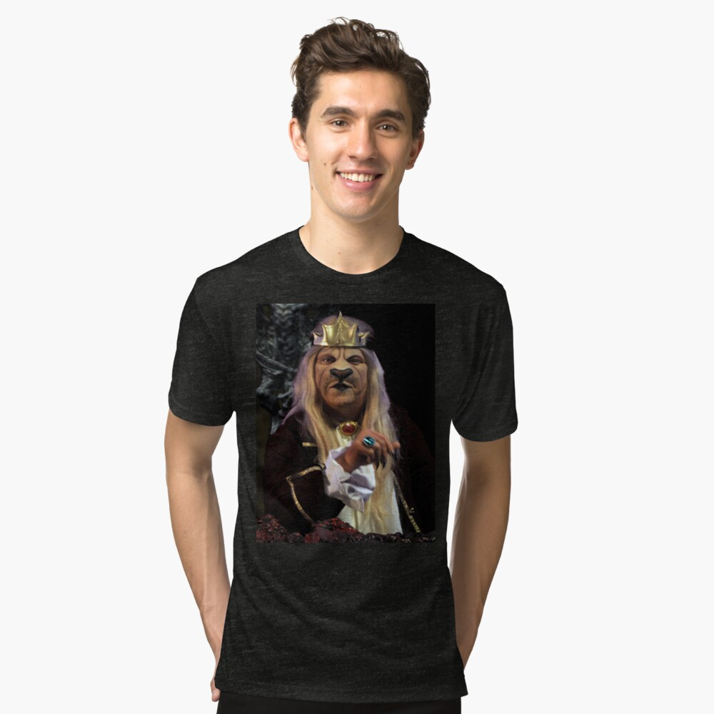 The Lion King in Gathering of Heroes: Legend of the Seven Swords Tri-blend T-Shirt Front