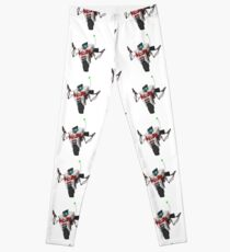 Dr. Zed's Claptrap Sticker Leggings