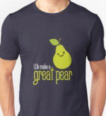 We make a great pear on dark Unisex T-Shirt