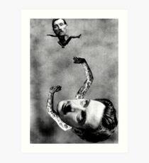 Dali's Weighting Lament. Art Print