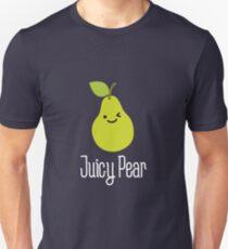 Juicy pear on dark Unisex T-Shirt