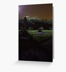 sombre Greeting Card