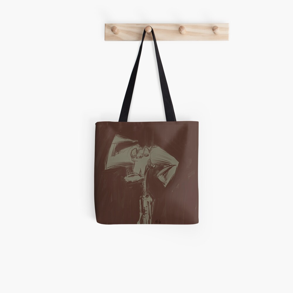 Crooked Horn Demon Tote Bag