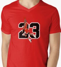 9f748b6b3c26 Michael Jordan Men s V-Neck T-Shirt