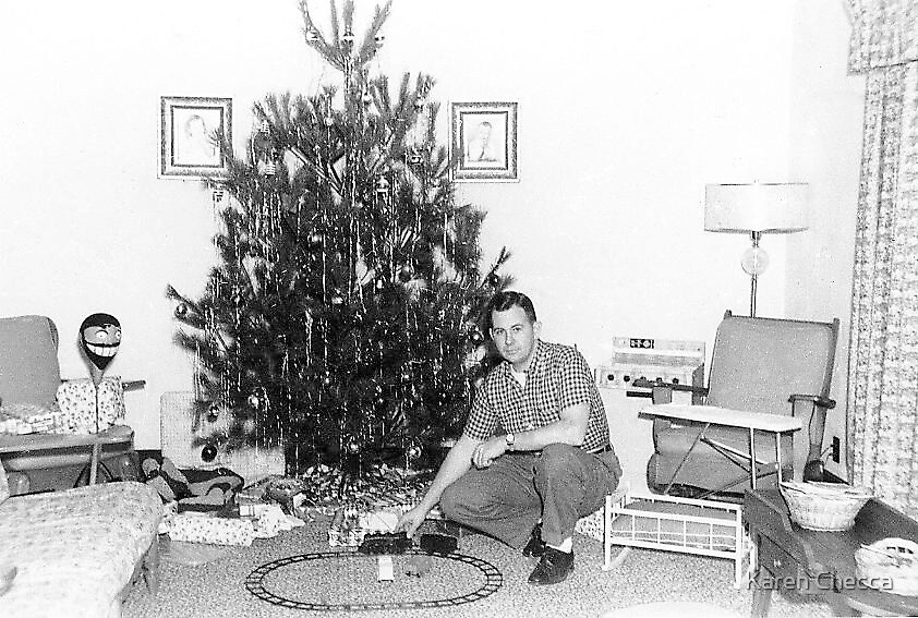 Christmas 1960 by Karen Checca