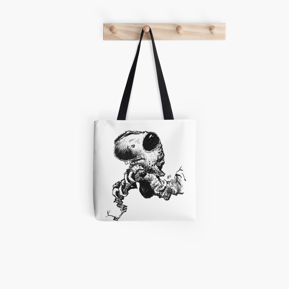 Black Eyed Tree Hugger Tote Bag