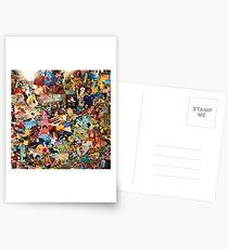 The 80s Les années bonheur  Postcards