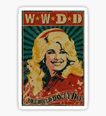 What Would Dolly Do? Sticker
