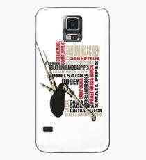 Sackpfeifen Textwolke Case/Skin for Samsung Galaxy