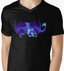 Starry Dragon Men's V-Neck T-Shirt