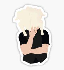 Joey with Turkey  Sticker