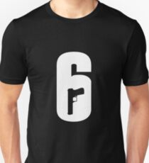 Rainbow Six - 6 Logo Unisex T-Shirt