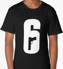 Rainbow Six - 6 Logo Long T-Shirt