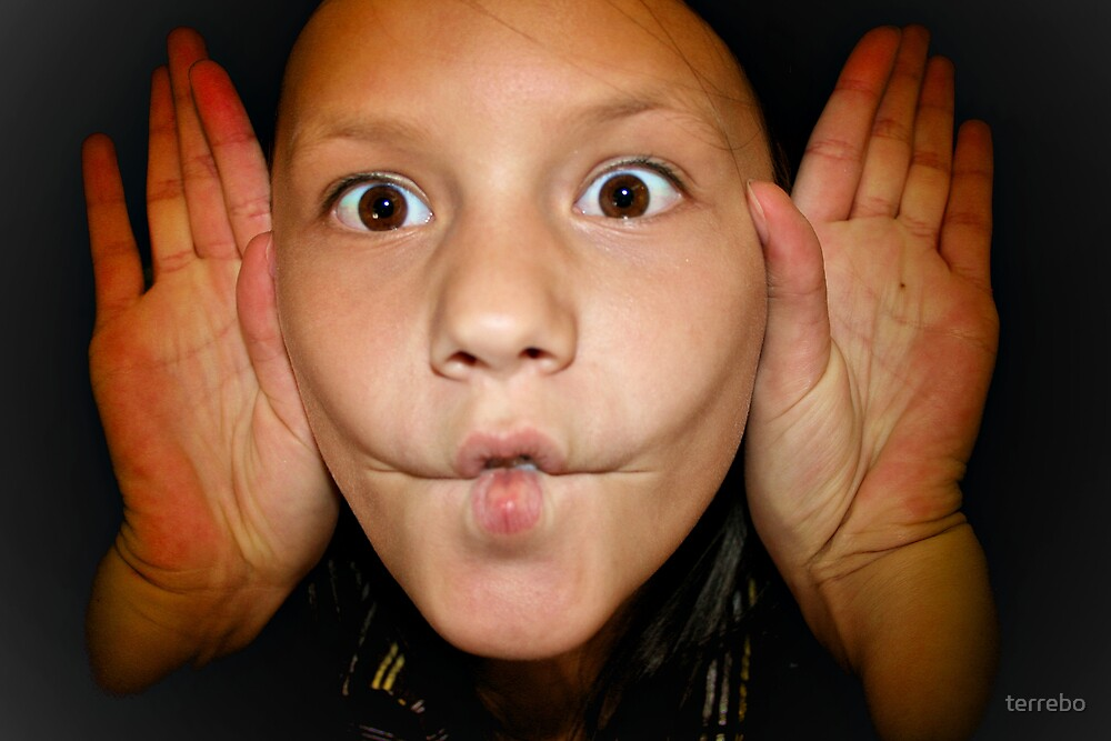 My Child Funny Faces  by terrebo