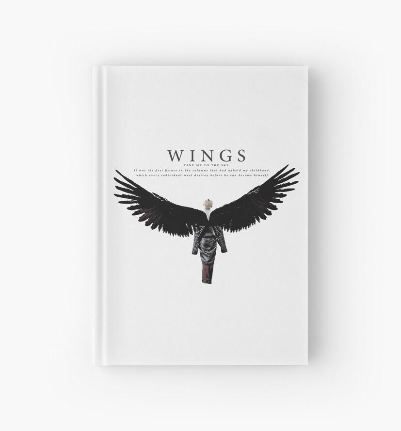 bts - wings taehyung by hanasaud