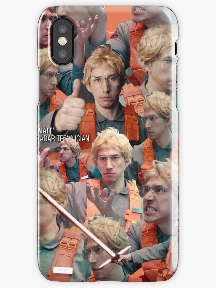 Matt The Radar Technician Iphone Case