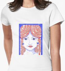 Women'sMarch on Washington 2017 Red, White and Blue Women's Fitted T-Shirt