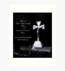 Matthew 5:12 Art Print