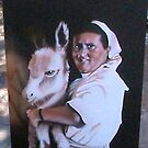 The Nun and the Donkey by captphrank