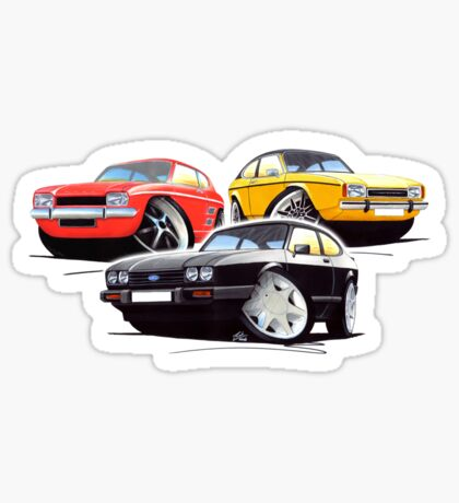 Ford Capri Collection Sticker