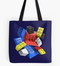 Picasso Toy Bricks Tote Bag