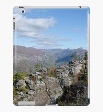 Linville Gorge Wilderness, USA iPad Case/Skin